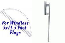 Huge 16' Windless Feather Flag Pole Ki 00006000 T w/ground spike