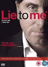 LIE TO ME COMPLETE SERIES 1 DVD First Season Tim Roth Original UK Release New R2
