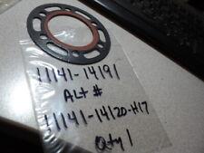 1982-83 SUZUKI RM125 RM 125 HEAD GASKET NOS OEM P/N 11141-14120-H17  11141-14191