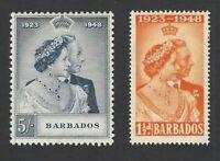 Barbados 1948 Royal Silver Wedding MH