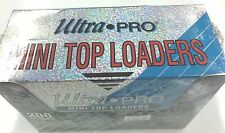 Ultra Pro SOFT MINI Top Loaders Box Of 200 -For AFL Regular cards