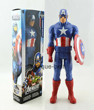 "12"" 30cm New in box Captain America  Blue The Avengers Titan Action figure Toy"