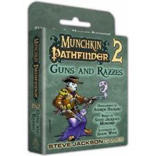 Current Edition Munchkin Pathfinder 2 Guns and Razzes Board