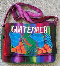 Guatemala Multi Colored Cloth Shoulder Bag/Purse