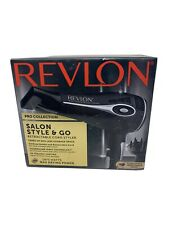 Revlon Pro Collection Salon Style & Go 1875w Hair Dryer W/Retract Cord Open box