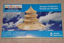 Temple of Heaven 3D DIY Wooden Puzzles Children's Educational Toy Creatology New