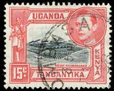 Scott # 72 - 1943 - ' King George VI, Mt. Kilimanjaro '