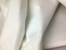 "Optical White Double Width 92""-234 cm 100% Cotton Sheeting Fabric Material *NEW*"