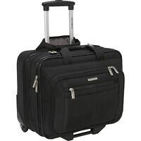 Samsonite Casual Wheeled Laptop Overnighter - Black Wheeled Business Case NEW