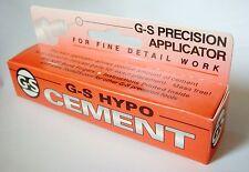 GS G-S HYPO CEMENT Precision Applicator Adhesive glue