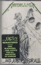 Metallica ...AND JUSTICE FOR ALL Remastered BLACKENED New Clear Cassette Tape