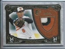 2016 Topps Museum Jonathan Schoop Game used patch 3 color /35 Baltimore Orioles