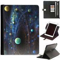 Galaxy Stars ipad case 360 swivel leather cover For Apple Ipad Air 3, Mini 5,4..
