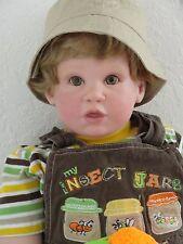 "Reborn 29+ inch chubby toddler boy doll ""Jeremy"" - custom - you choose hair/eye"