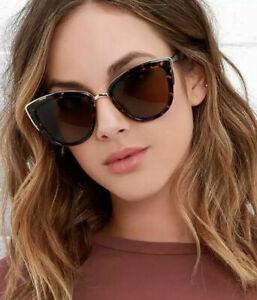 Hot Cat Eye Triangular Retro Women's Sunglasses Gradient Glasses Retro UV 400