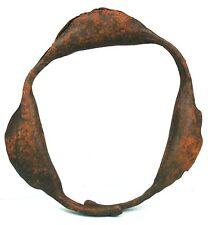 Art Africain - Ancienne Chevillère Bracelet Monnaie en Fer - Côte d'Ivoire +++++