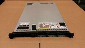 Dell Poweredge R620  1x E5-2630 2.30GHz Hex Core 8GB 2x 750w PS w/8 HDD Caddies