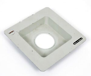Cambo 4X5 8X10 recessed lensboard 60mm hole