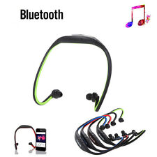 Estéreo Inalámbrico Bluetooth Auricular Auriculares Manos Libres para iPhone 7 HTC