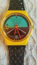 Vintage Swatch Watch 1987 Follow Me GJ101