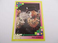 Carte WWF Card MERLIN  COLLECTIONS - PAPA SHANGO n°54 - TITAN SPORTS 1993