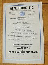 Watford v East Anglian Cup Team. Diamond Jubilee. 12th Nov 1963. (Pat Jennings)