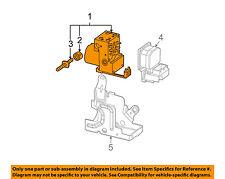 Pontiac GM OEM Grand Prix ABS Anti-Lock Brake System-Control Module 19121325