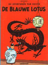 KUIFJE - DE BLAUW LOTUS - Herge (KLEINE HARDCOVER)