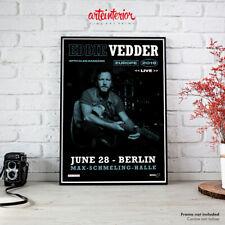 Eddie Vedder | Poster June 28 2019 Berlin Max-Schmeling-Halle Manifesto Affiche