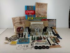 Tandy Leather Craft Tools Made In USA With Tandy Tool Box Leather Books Etc.