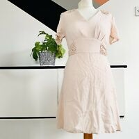 TOPSHOP Dress Size 10 PINK | SMART Occasion WEDDING Cruise RACES