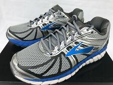 a0ce9fe3800 Brooks Beast 16 Silver 1102274E005 Blue 5K Marathon Running Shoes Men s 8  EEEE