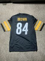 Nike NFL Players On Field Pittsburgh Steelers Jersey #84 Antonio Brown Size M