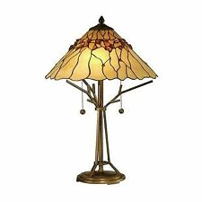 Dale tiffany table lamps bronze ebay dale tiffany tt10598 antique bronze branch base tiffany table lamp with 2 lights mozeypictures Image collections