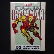 "NEW Marvel ""The Invincible IRONMAN"" Deck of Playing Cards"