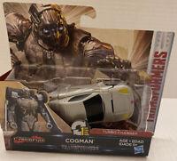 Hasbro Transformers The Last Knight CyberFire Cogman Turbo Changer 1-Step!!!
