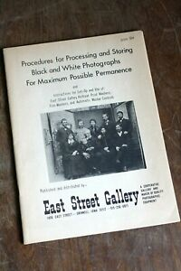 Vintage Guide Book - Procedures for Processing and Storing B&W
