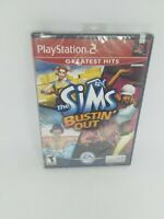 The Sims Bustin' Out Greatest Hits   (PlayStation 2 PS2) New Factory Sealed