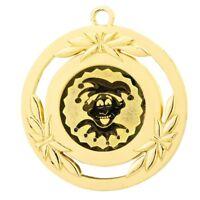 "Karnevalsorden 50mm goldfarben ""Fasching"" inkl.Emblem & Band 1,99 EUR/Stück"