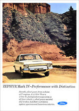 FORD ZEPHYR MK4 RETRO A3 POSTER PRINT FROM CLASSIC 60'S ADVERT