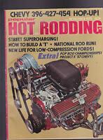 Popular Hot Rodding Magazine Chevy 396-427-454 Hop-Up November 1972
