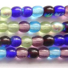 100 Czech Druk Round beads 4mm - Gemtones - ZB010