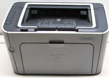 HP LaserJet P1505N Workgroup Laser Printer---Refurb/CD driver/New Rollers