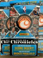 2019/20 Panini Chronicles NBA Basketball Fat Pack Zion Ja Luka LeBron Jordan