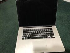 """Macbook Pro Retina 15"""" Mid-2014 500GB SSD, 2.5 GHz, Intel i7, 16GB RAM"""