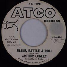 ARTHUR CONLEY: Shake Rattle & Roll USA ATCO Rocker R&B DJ PROMO 45