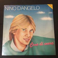 """NINO D'ANGELO """"COSE DI CUORE"""" RARO LP RICORDI + POSTER - SIGILLATO"""