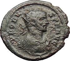 Probus  281AD  Ancient  Roman Coin Nude Jupiter Zeus w thunderbolt  i29787