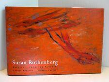 SUSAN ROTHENBERG  Paintings from the Nineties by C.Brutvan + R.Creeley HARDCOVER