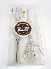 New Halloween The Midnight Market Set of 2 Skeleton Arm Tongs